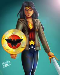 .: Injustice : Insurgency Wonder Woman :.