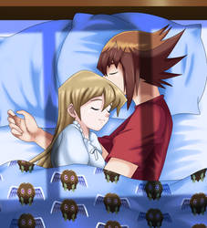 .: Fianceshipping : in bed :.