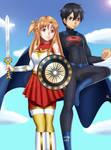 .: Commission : SAO Superheroes :. by Sincity2100