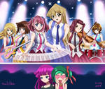 .: Yugioh Girls Concert :. by Sincity2100
