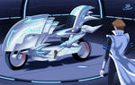 .: Seto Kaiba Turbo Dueling :. by Sincity2100