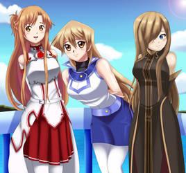 .: Three Beautiful Girls :. by Sincity2100