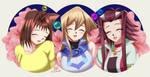 .: YGO : Laughing Girls :. by Sincity2100