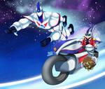 .: Jaden Yuki Turbo Dueling :. by Sincity2100