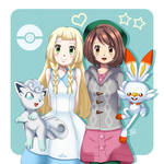 .: Lillie and Gloria :. by Sincity2100