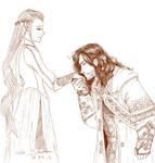 A Dwarf and An Elf