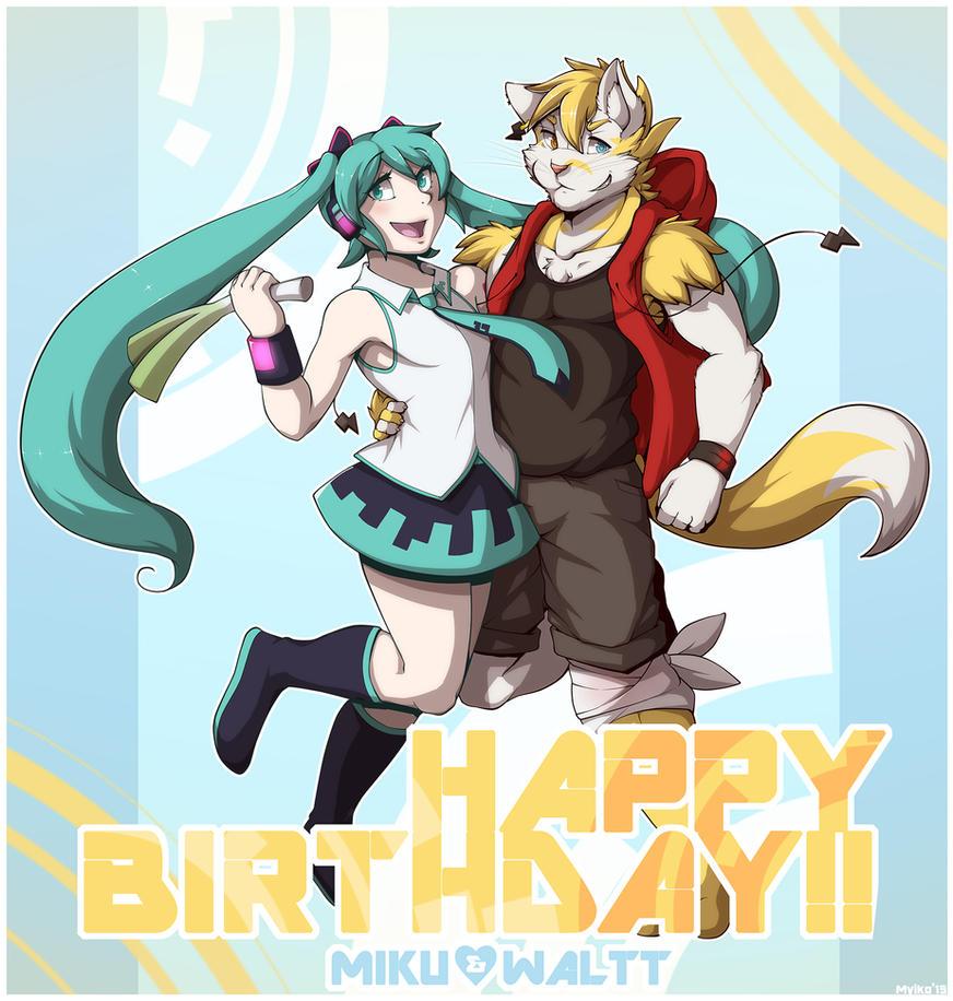 Happy Birthday~!! by Utakoloid