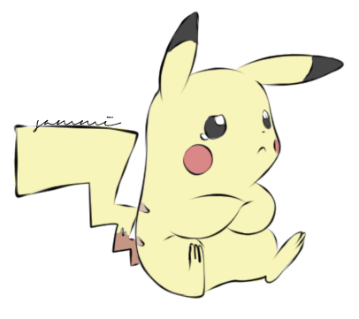 Pikachu by ensnarings