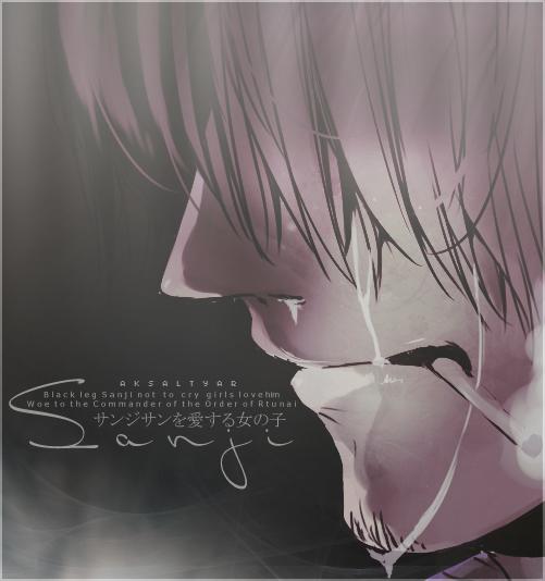 Poster Sanji ~ by SLN87