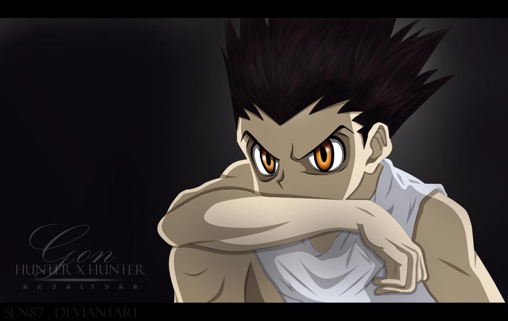 Hunter X Hunter_ GON by SLN87