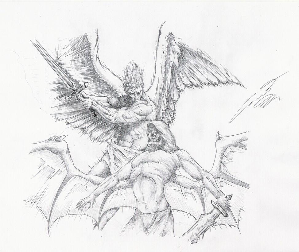 Angel Vs Demons