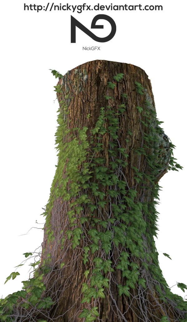 Tree Stump 1 [Render]