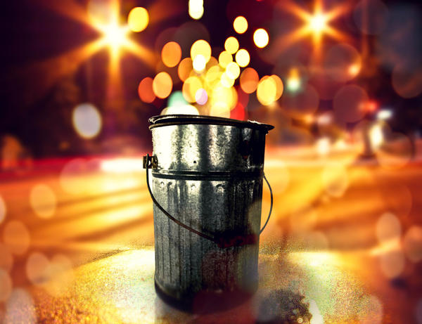 Bucketful of Bokeh by sh-o-o-sh