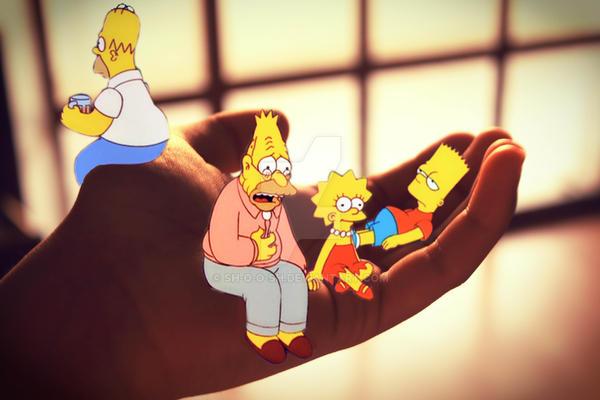 The Simpsons by sh-o-o-sh