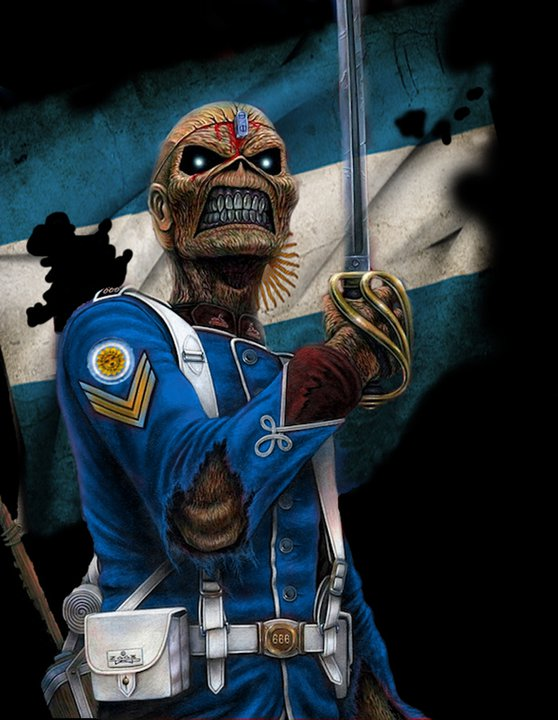 Eddie The Head The Trooper Made in Argentina by BBEricLGF ...