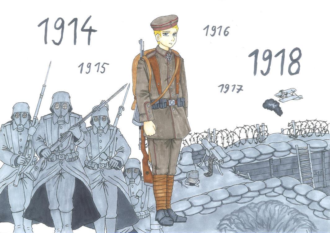Der Stellungskrieg 1914 18 The Attrition Warfare By