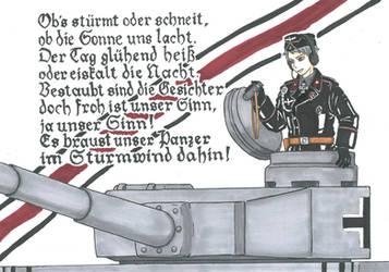 Panzerlied by xGeschwatzX