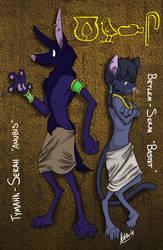 Walk Like An Egyptian (God) by BavarianZombieBoy