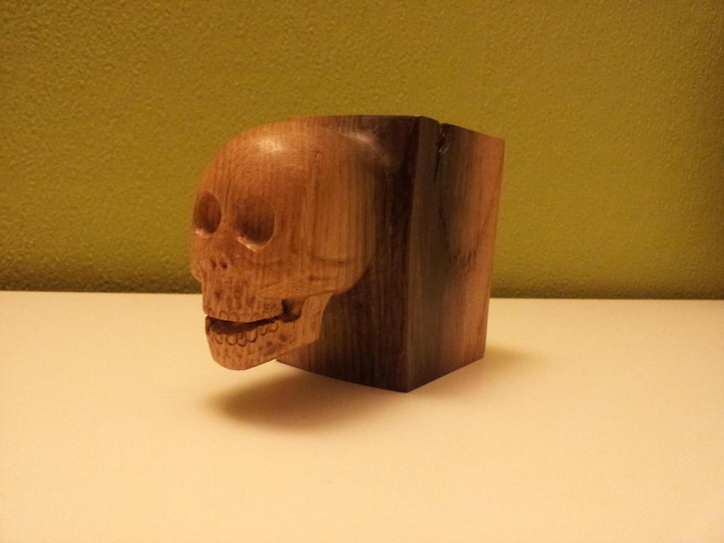 Oak Skull by def-j