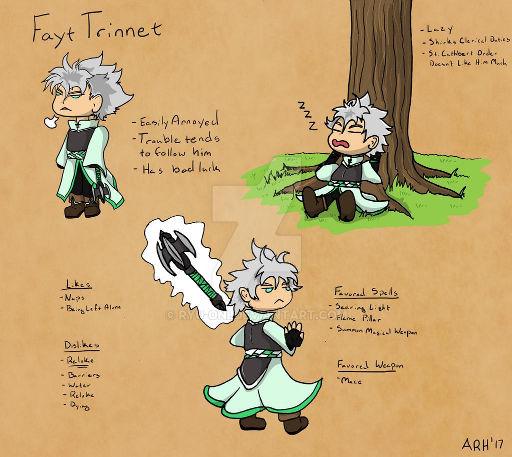 DnD Chibis: Fayt Trinnet by Ryu-Oni