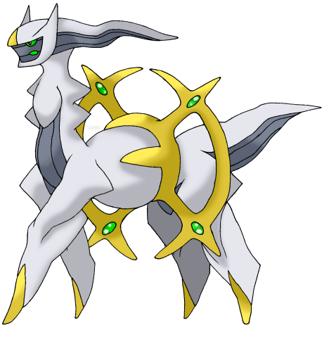 how to get arceus pokemon y