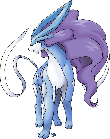 30 Days of Pokémon Suicune_by_Xous54