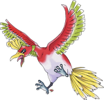 Ho-Oh Normal Version