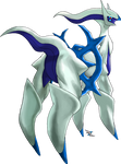 Arceus Water Type