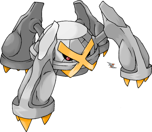Metagross: Shining Coloration by Xous54