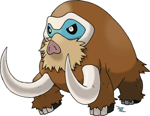 Mamoswine by Xous54 on DeviantArt