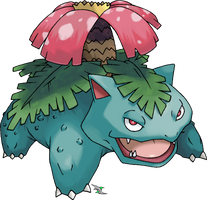 Venusaur by Xous54