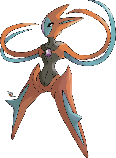 Deoxys Attack Forme by Xous54 on DeviantArt