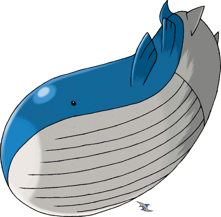Wailord by Xous54 on DeviantArt Wailord Pokemon Size