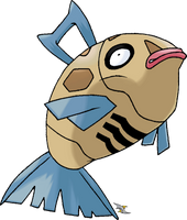 Feebas v.2 Normal Coloration by Xous54