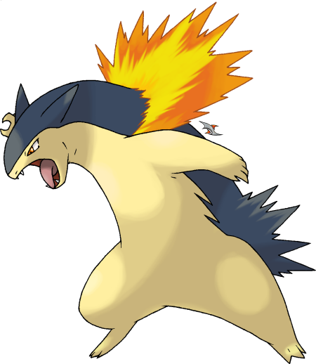 Typhlosion by Xous54