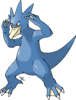 Golduck by Xous54