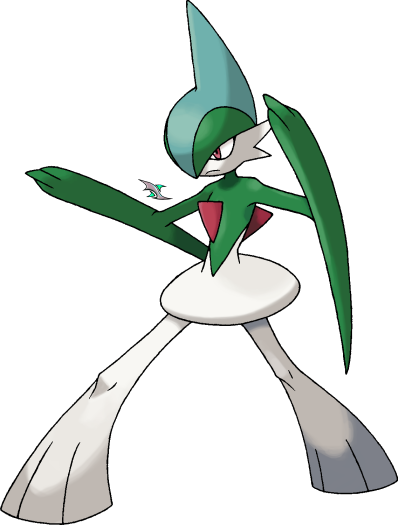 Gardevoir and gallade spam of pokemon turned into male humans