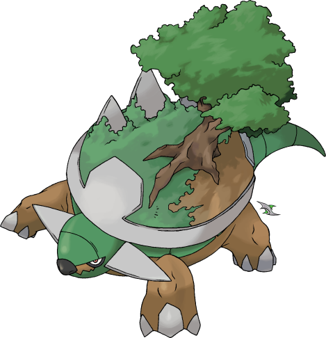 Torterra v.2 by Xous54 on DeviantArt