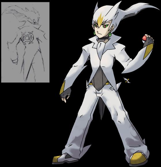 Shiny Arceus Sprite Can i have a trainer sprite