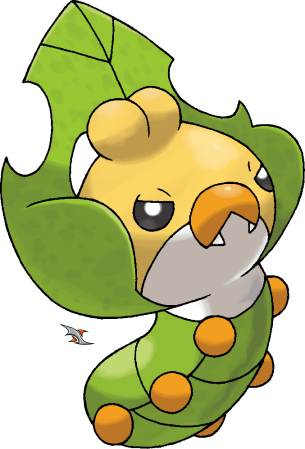 sewaddle pokemon coloring pages - photo#28