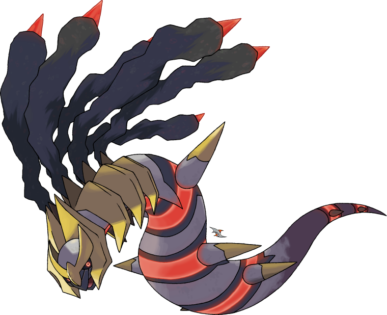 Giratina Origin Forme v.2 by Xous54 on DeviantArt Shiny Giratina Altered Form