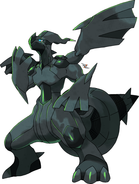 Pokemon zekrom shiny
