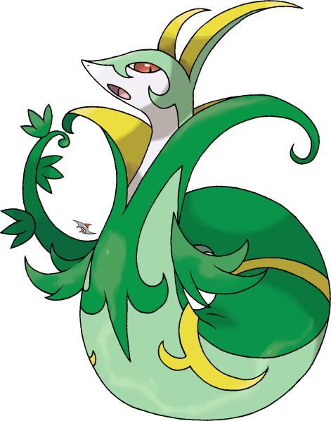snivy serperior coloring pages - photo#30