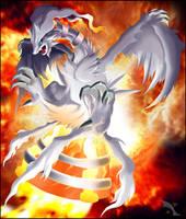 Reshiram, God of Fire by Xous54