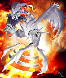 Reshiram, God of Fire by Xous54