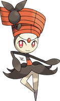 Meloetta Pirouette Forme v.2 by Xous54