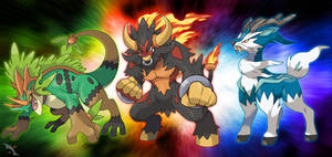 Fakemon Starters Final Stages