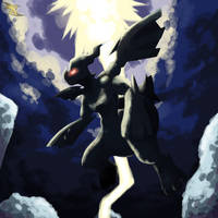 Quick Practice: Zekrom Thunder by Xous54