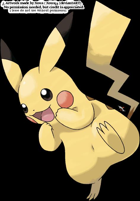 Pikachu v.3 by Xous54