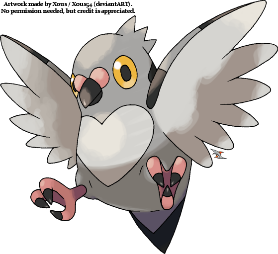 Pidove v.2 by Xous54 on DeviantArt